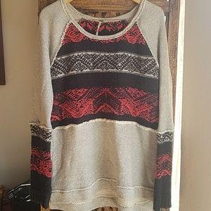Free People M Sweatshirt Style Sweater